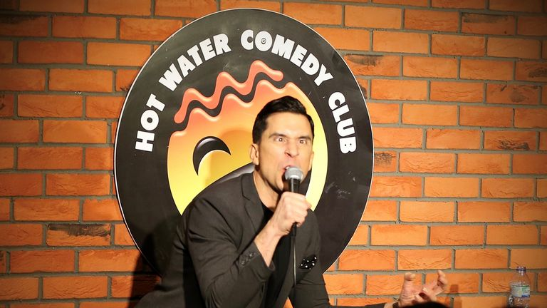 Russell Kane is among the big names who have previously performed at the club. Pic: Hot Water Comedy Club