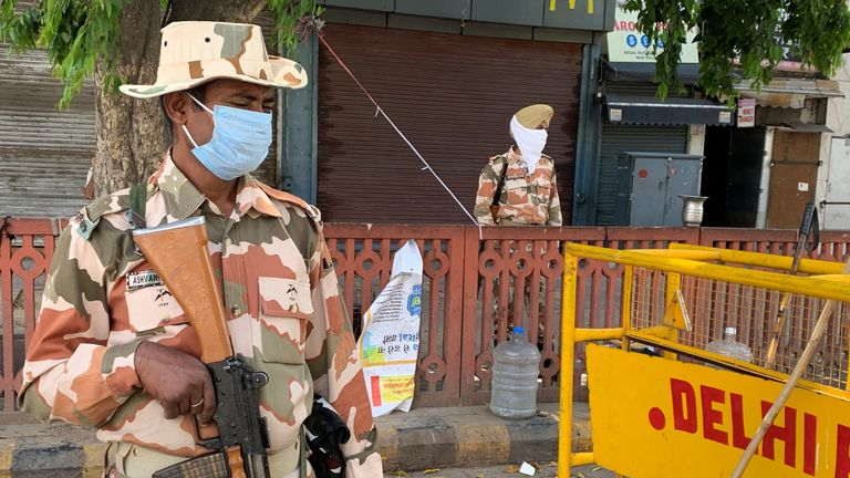 The lockdown in India is due to last for three weeks