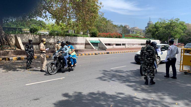 Delhi's roads are unrecognisably quiet