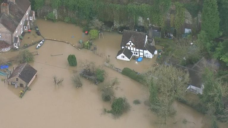 Residents of Ironbridge are still recovering from flooding earlier this year and now they must prepare for a pandemic