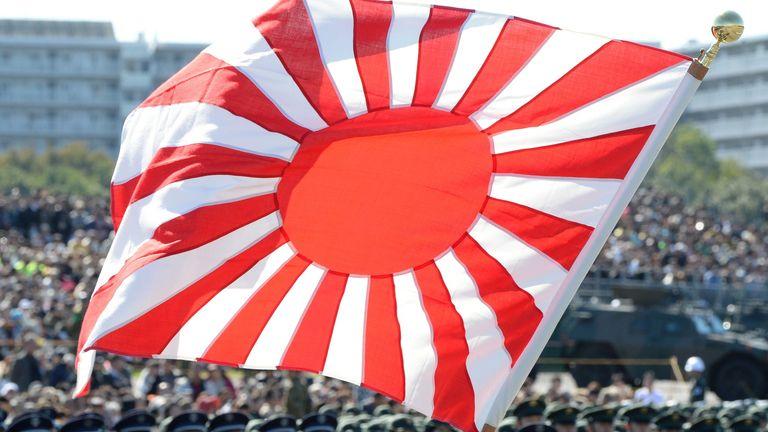 Japan's Rising Sun flag