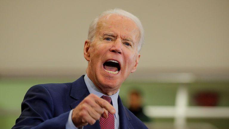 Joe Biden's temper has gotten him into trouble on the campaign trail before