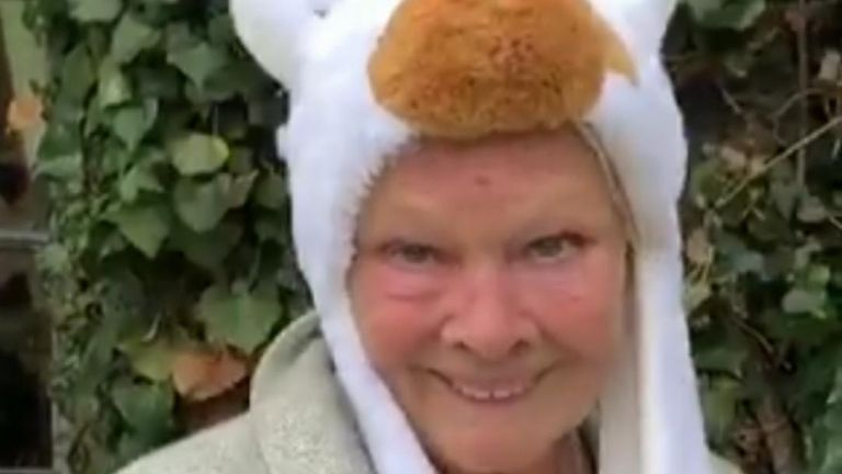 Judi Dench still