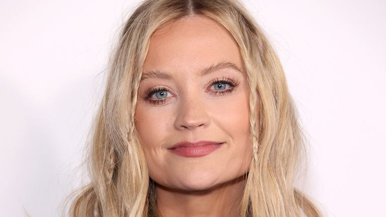 Laura Whitmore attends WE Day UK 2020 at The SSE Arena, Wembley on March 04, 2020 in London, England
