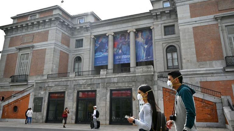 All state-run museums in Madrid, including El Prado are closed