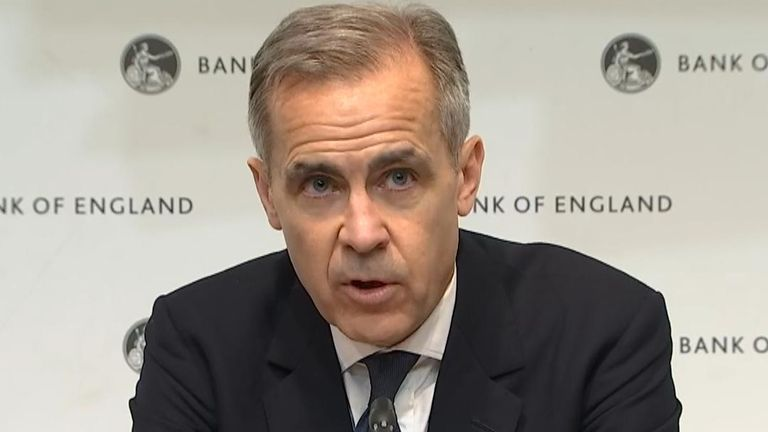 Mark Carney explains why interest rate has been reduced