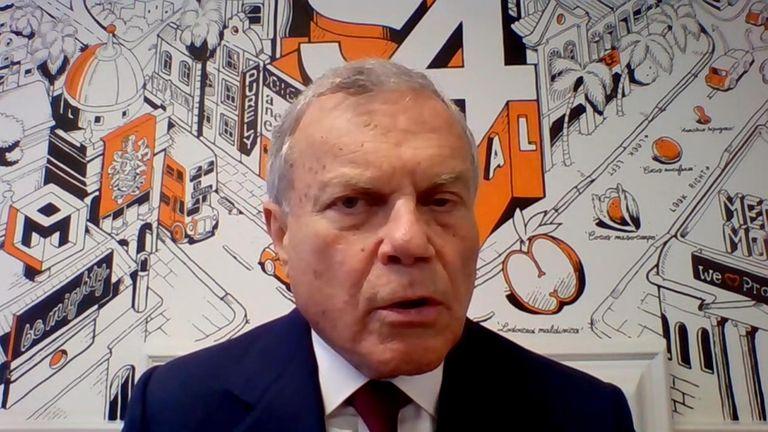 Martin Sorrell still