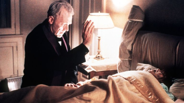 Max von Sydow in The Exorcist. Pic: ©Warner Bros