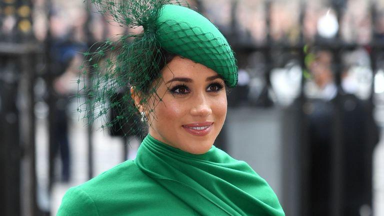 Meghan Duchess of Sussex. Pic:Tim Rooke/Shutterstock