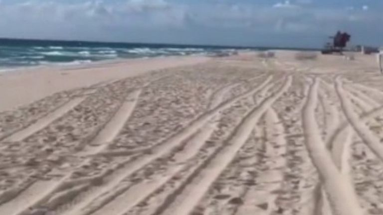 Miami Beach is empty as people stay away because of coronavirus