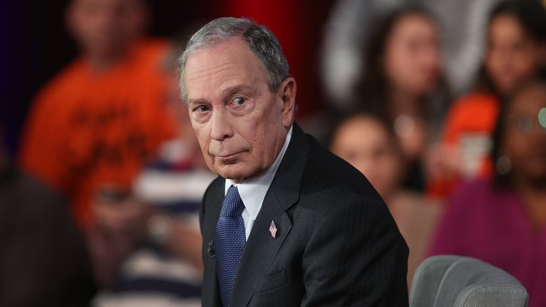 Michael Bloomberg is reported to have spent $500m on advertising
