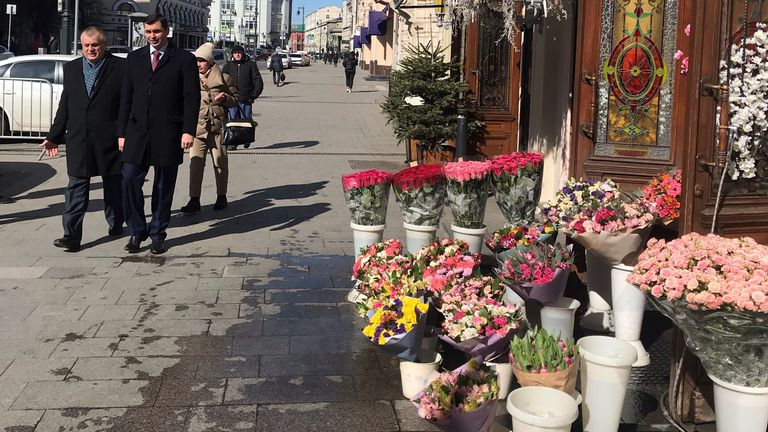 Most businesses in Moscow are still open as usual