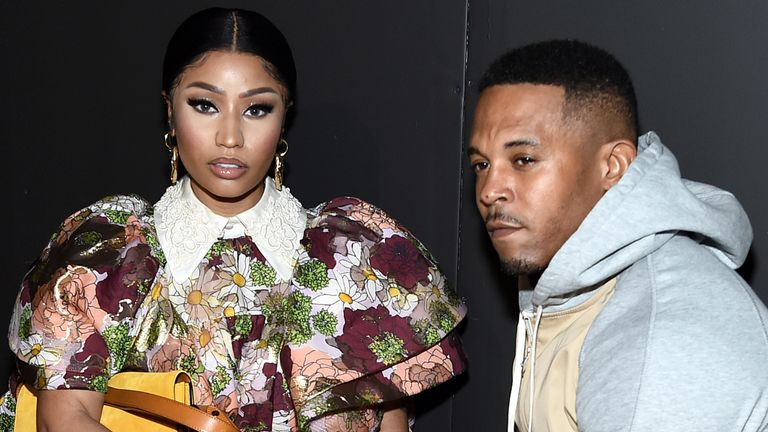Nicki Minaj's husband Kenneth Petty arrested for 'failing to ...