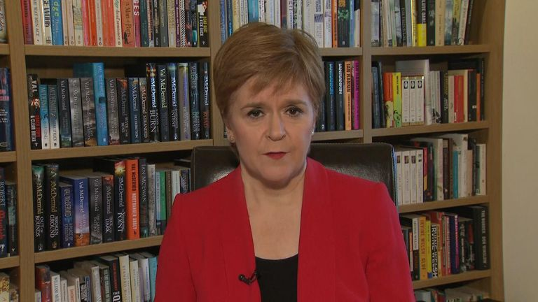 Scotland's First Minister says the NHS in Scotland will need more resource from the UK govt to deal with coronavirus.
