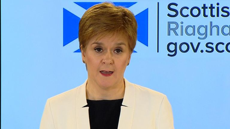 First Minister, Nicola Sturgeon makes coronavirus statement.