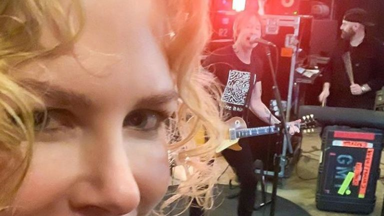 Nicole Kidman became an 'audience of one' for husband Keith Urban. Pic: Instagram/@Nicolekidman