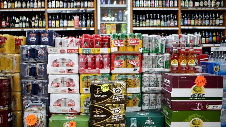 The updated list added licensed shops selling alcohol, including those in breweries