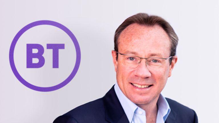 BT chief executive Philip Jansen PIC: BT