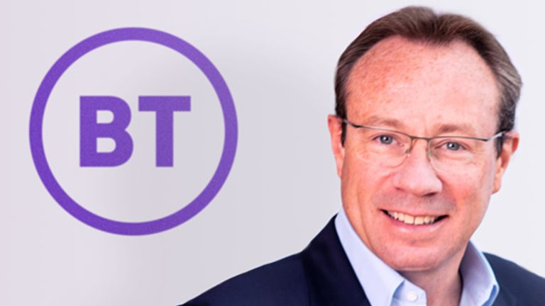 BT chief executive Philip Jansen PIC: BT