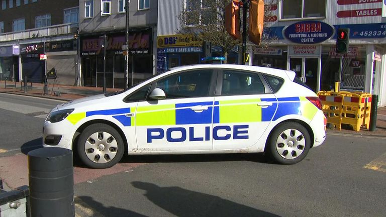 Two men have been arrested by police