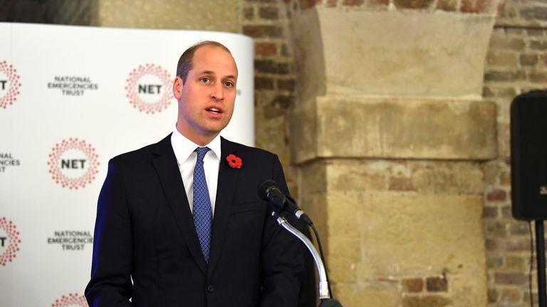 Prince William still