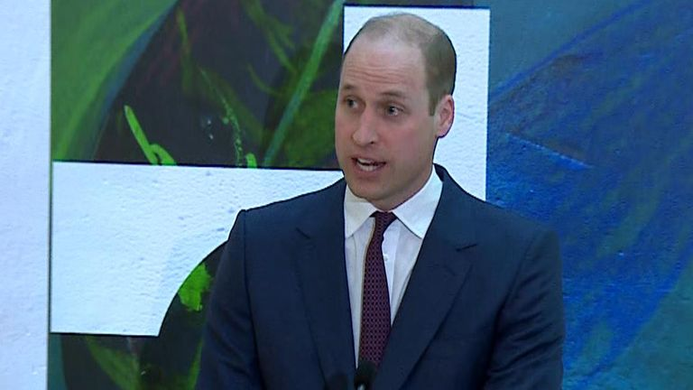 Prince William speaks about the relationship between Ireland and the UK