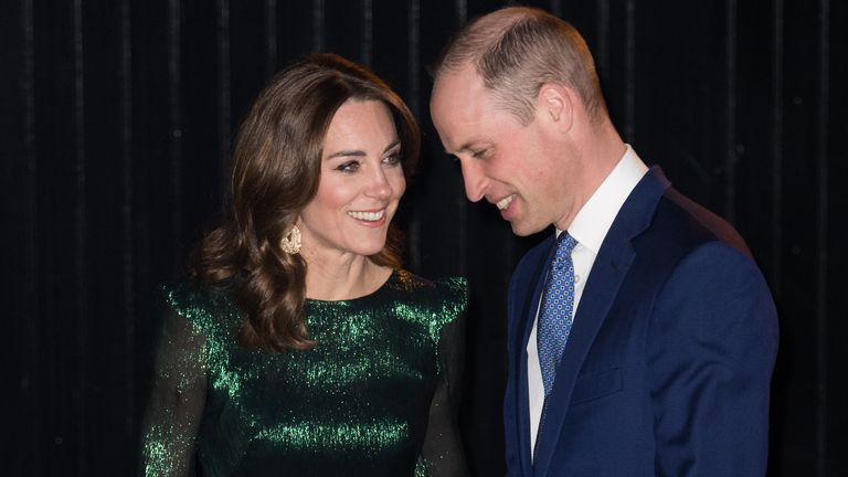 The Duke and Duchess of Cambridge at the Guinness Storehouse's Gravity Bar