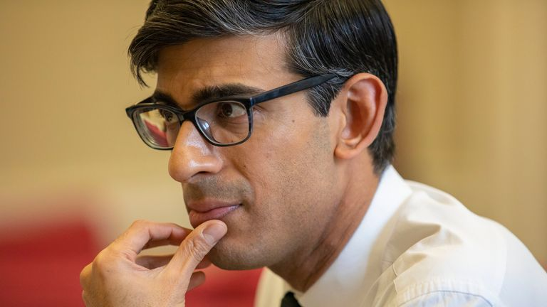Rishi Sunak prepares for his first budget as chancellor