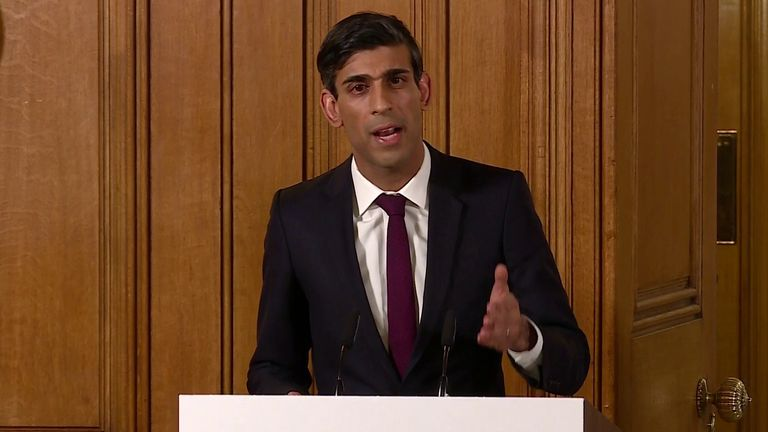 Rishi Sunak says we want to look back at coronavirus crisis and say we stood together