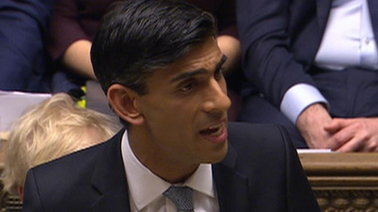 Rishi Sunak announces his sick pay refunds for small business