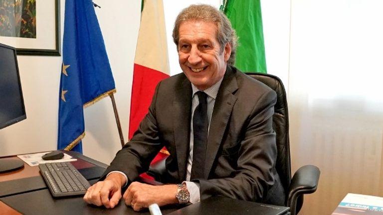 Roberto Stella. Pic: Ordine Provinciale dei Medici Chirurghi e degli Odontoiatri di Varese
