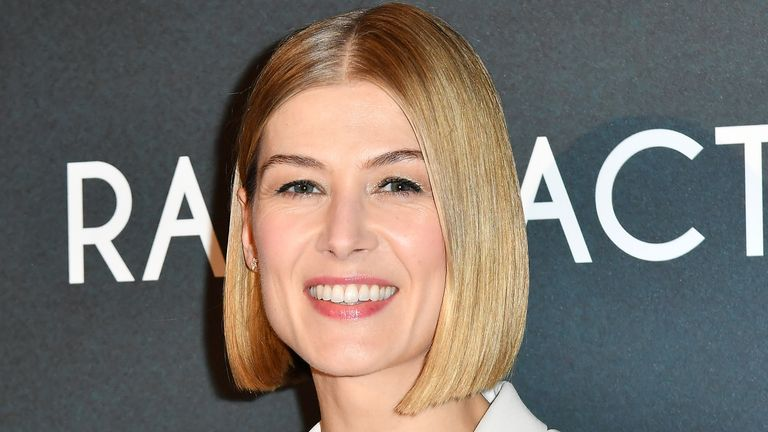 Rosamund Pike says women need to 'speak up and speak truth to power'