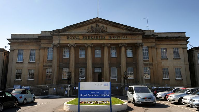 The woman had been treated at Royal Berkshire Hospital
