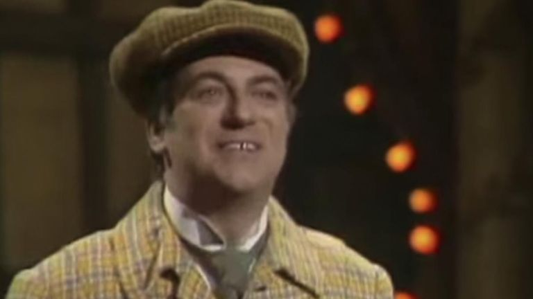 Actor Roy Hudd has died aged 83