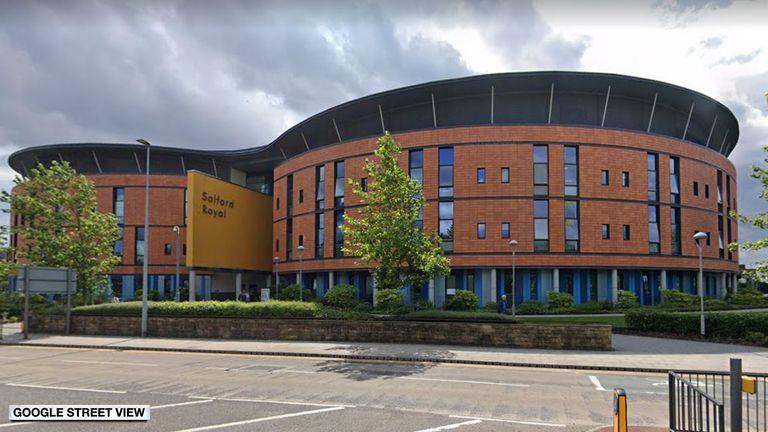 Salford Royal Infirmary