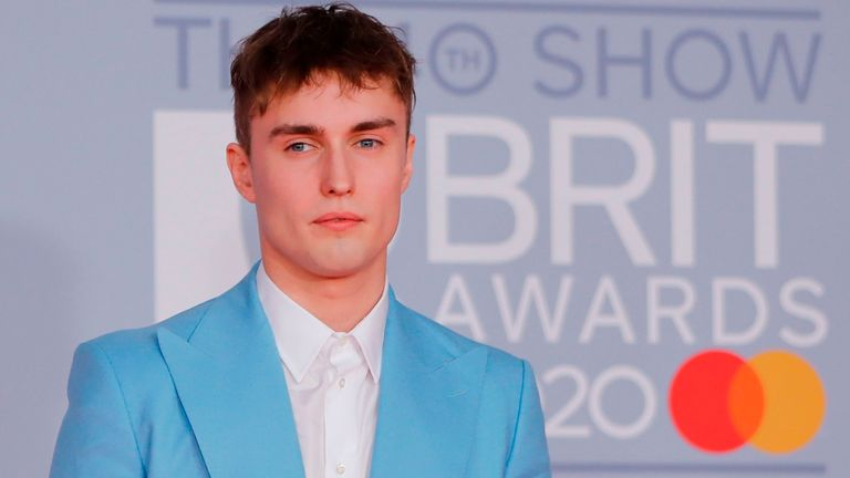 Sam Fender at the Brit Awards 2020