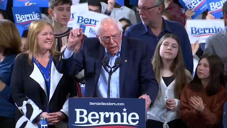 Bernie Sanders seems to be slipping behind Joe Biden