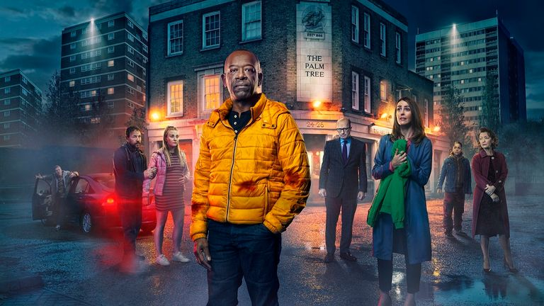Save Me Too, starring Lennie James and Suranne Jones. Pic: Sky Atlantic