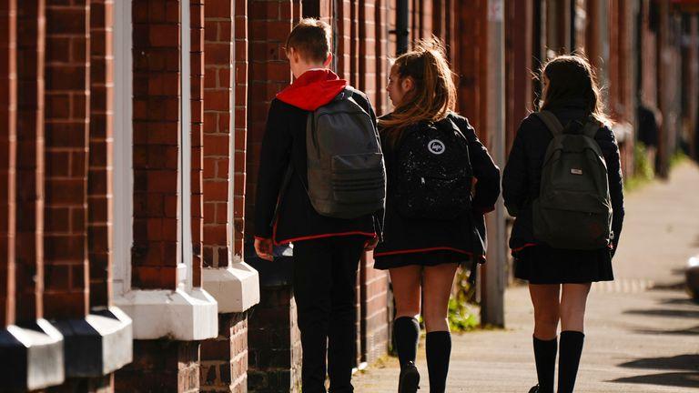 Schools shut in UK