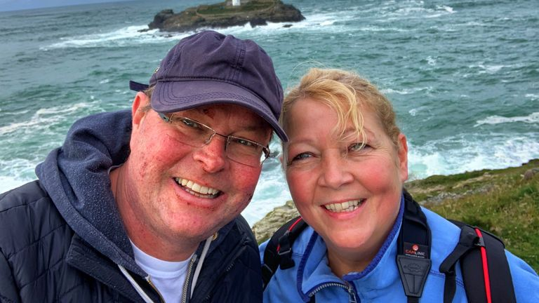 Simon and Ali Cowls hope they can one day fulfill their deram of road-tripping throughout the UK