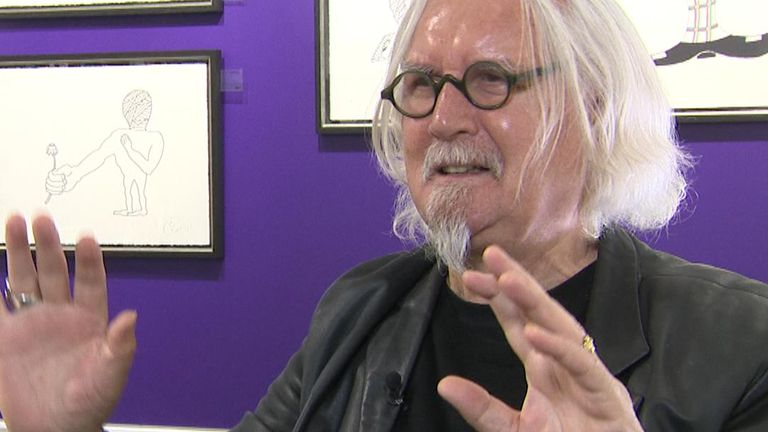Sir Billy Connolly says more people should listen to comedians and poets