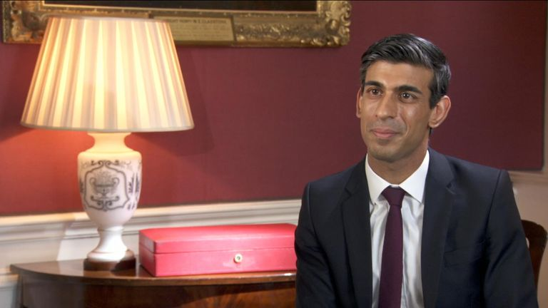 The new chancellor, Rishi Sunak, speaks to Sky's Sophy Ridge about the departure of his predecessor, Sajid Javid