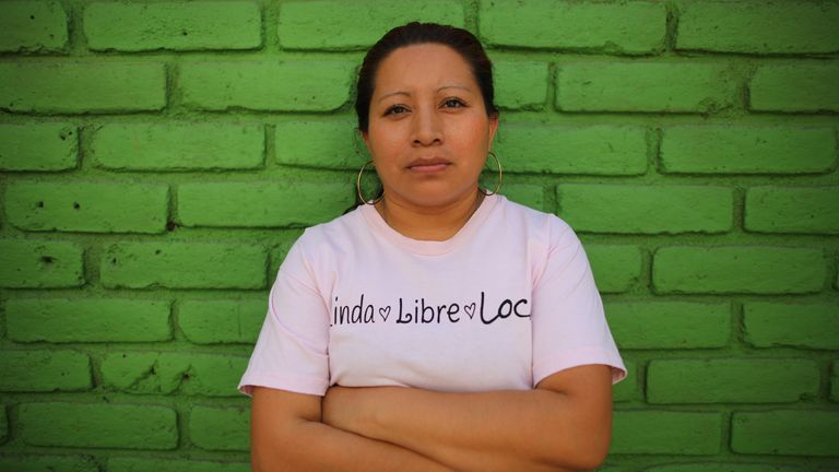 Teodora Vasquez, who was jailed for 30 years for a miscarriage