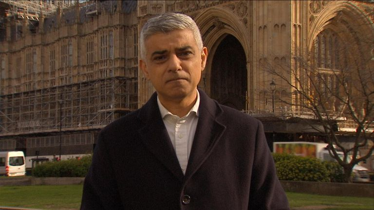 London mayor, Sadiq Khan explains why the London underground network is still running but at a reduced capacity.