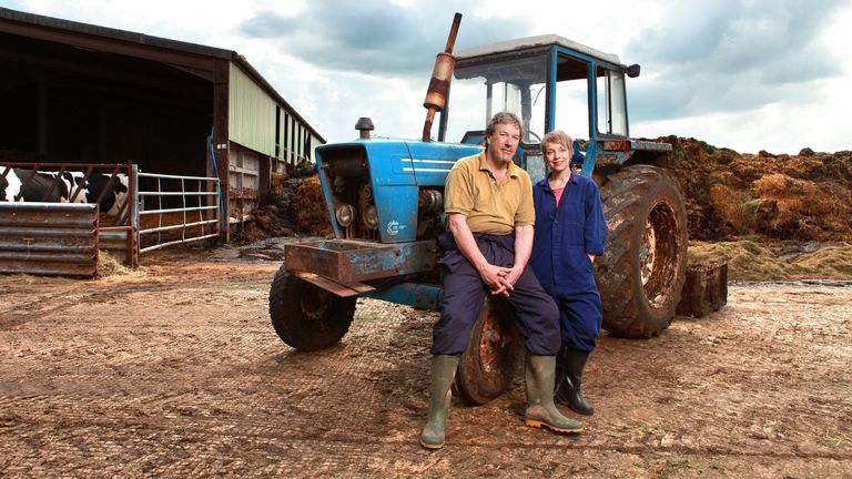 David Archer (TIMOTHY BENTINCK), Ruth Archer (FELICITY FINCH). Pic: BBC