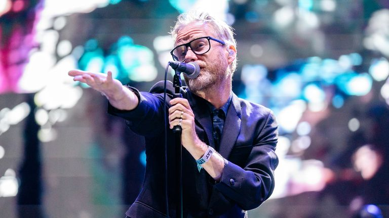 The National have cancelled gigs in Japan over coronavirus fears