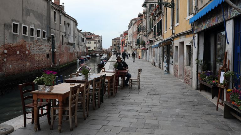 Venice has been hit by coronavirus