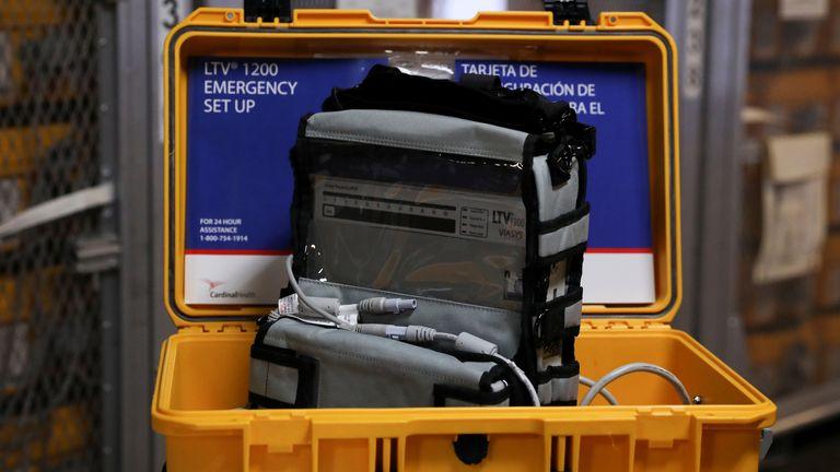 New York has called for more ventilators to help its coronavirus response