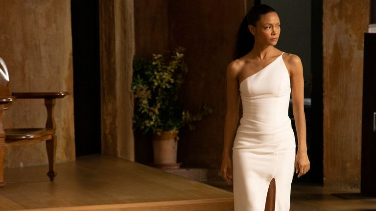 Thandie Newton in Westworld. Pic: Sky Atlantic/HBO
