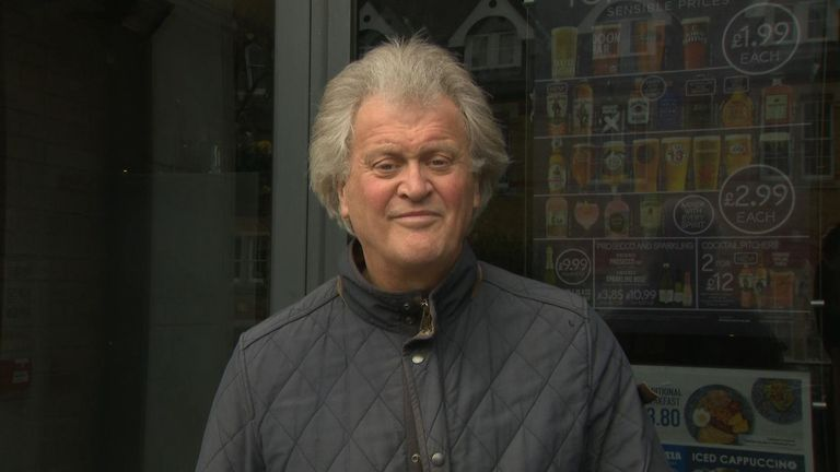 Tim Martin, the Wetherspoon's boss, said he was still keeping all his pubs open, saying there was 'little evidence of virus transmission in pubs'